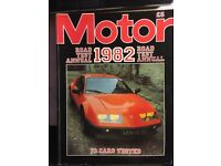 Collection of Road Tests of new cars in 1982 - Over 60 tests and comparisons