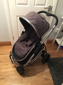 iCandy Strawberry travel system with Maxi Cosi car seat and Isofix base