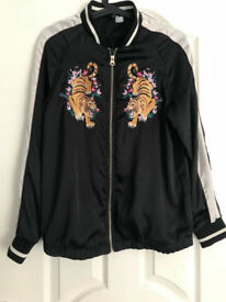 Womens Embroidered Jacket Size 10