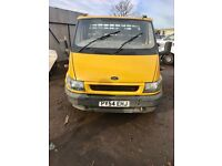 2004 FORD TRANSIT DROPSIDE TRACK / VAN 2.4 DIESEL, 3.5 TON, WILL COME WITH NEW 1 YEAR MOT, 200K