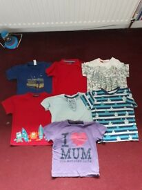 Bundle boys short sleeved t.shirts 18month - 2years