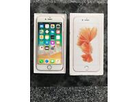 iPhone 6s Unlocked 64Gb Rose Gold Excellent Condition