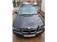 BMW, 3 SERIES, 2002, Manual, 1995 (cc)
