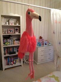 Flamingo puppet