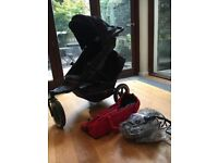 Barely used Phil and Ted Double Buggy