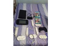 Nintendo Wii U Premium Pack, Mario Kart 8, Smash Bros Wii U + Extras - £190