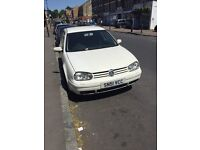 VW Golf turbo White TDI 1.9 diesel Auto Amazing car best price