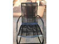 Garden rocking chair from B&Q
