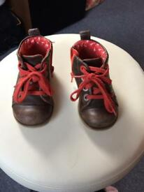 Clarke's baby boys shoes size 5