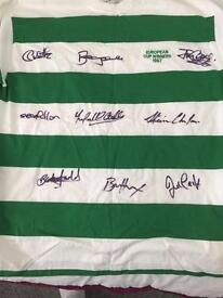 SIGNED LISBON LIONS SHIRT BY 9 players