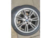 2 bmw style 103 alloy wheels 8j