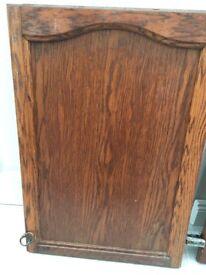 Solid wood kitchen wall unit door