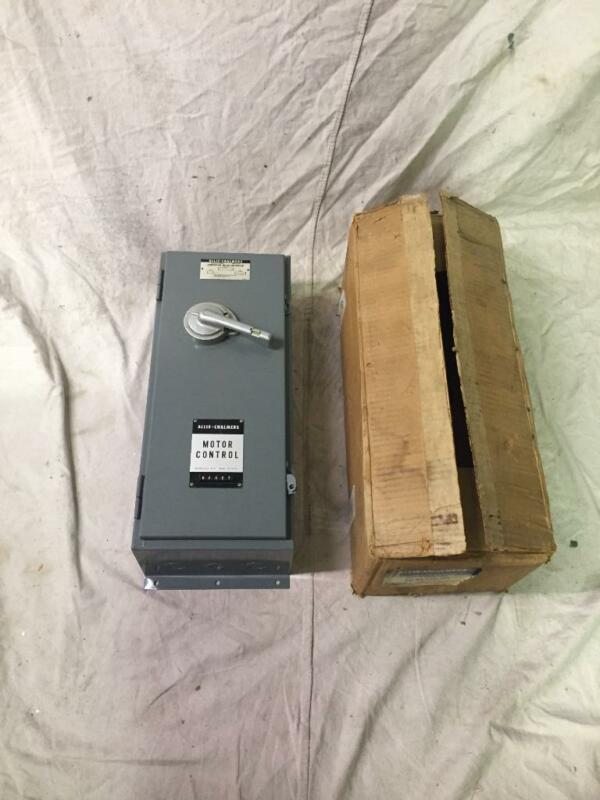 Allis-Chalmers XCF-0A-1/2C1-302 Motor Control Combination Magnetic Starter