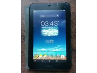 ASUS memo pad HD7 Tablet 16gb. like new with free charger, box and case.