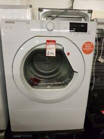 Brand New HOOVER HL V8DG Vented NFC 8 kg Tumble Dryer - White