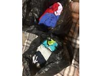 2 bags full of clothes for kids/ junior boys aged 7-13 years old