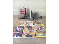 Wii console and 7 games
