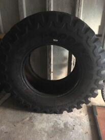 Large Goodyear tractor tyre