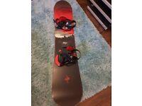 Rossignol Sultan 155cm Snowboard.