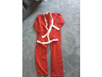 Adult Santa jacket and trousers
