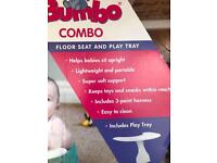 Bumbo Baby Seat & Play Tray NEW