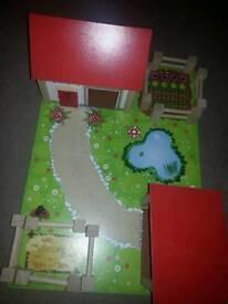Childrens farm toy set