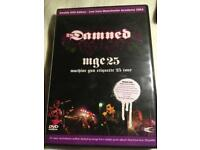 The Damned mge 25 DVD.