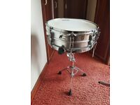 Vintage 1960's Ludwig Acrolite Snare Drum