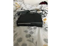 Xbox 360 elite black and controller