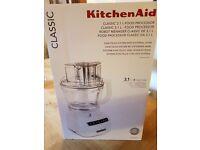 Brand New KitchenAid Classic Food Processor - White