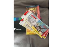 Leeds festival tickets for Saturday 25th August