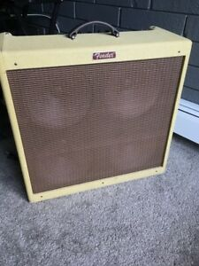 Fender Blues Deville 4×10 tube amplifier
