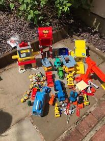 Large selection of Bob the Builder toys