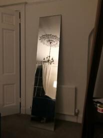 IKEA VIKEDAL Mirror Door with hinges glass 50x229cm 50cm