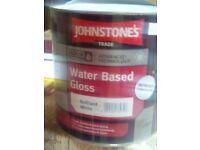 Johnstones Water Based Gloss 2.5 Ltr