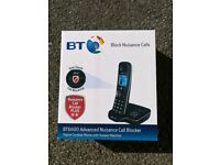 New bt 6600 advanced nuisance call blocker and answer phone. Cheapest online £36