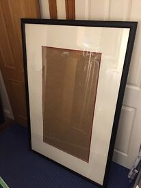 Extra large picture frame