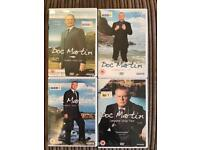 Series 1, 2, 3 and 4 DVD's.