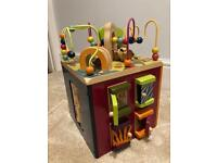 Activity cube - Zany Zoo