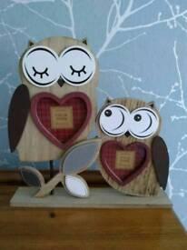 Owl Photograph Frame - New