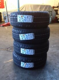 205/55/16 205 55 16 brand new supplied and fitted £35 each tyre tyres