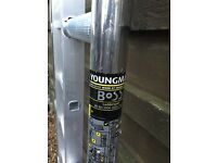 Boss Youngman narrow scaffold tower 4.2M wh X 1.8M