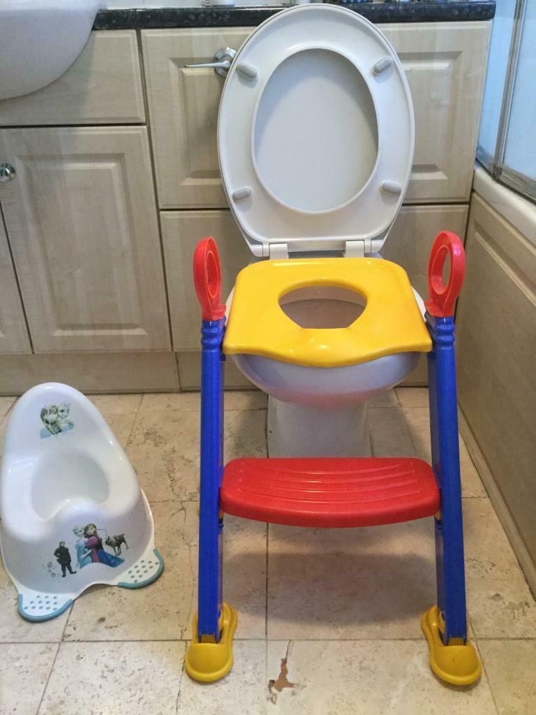 Wondrous Potty And Toilet Trainer Seat In Burgess Hill West Sussex Gumtree Evergreenethics Interior Chair Design Evergreenethicsorg