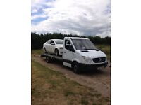 2007 Mercedes sprinter recovery