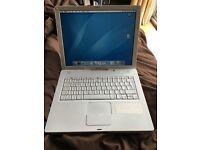 Apple MacBook iBook 4 white laptop