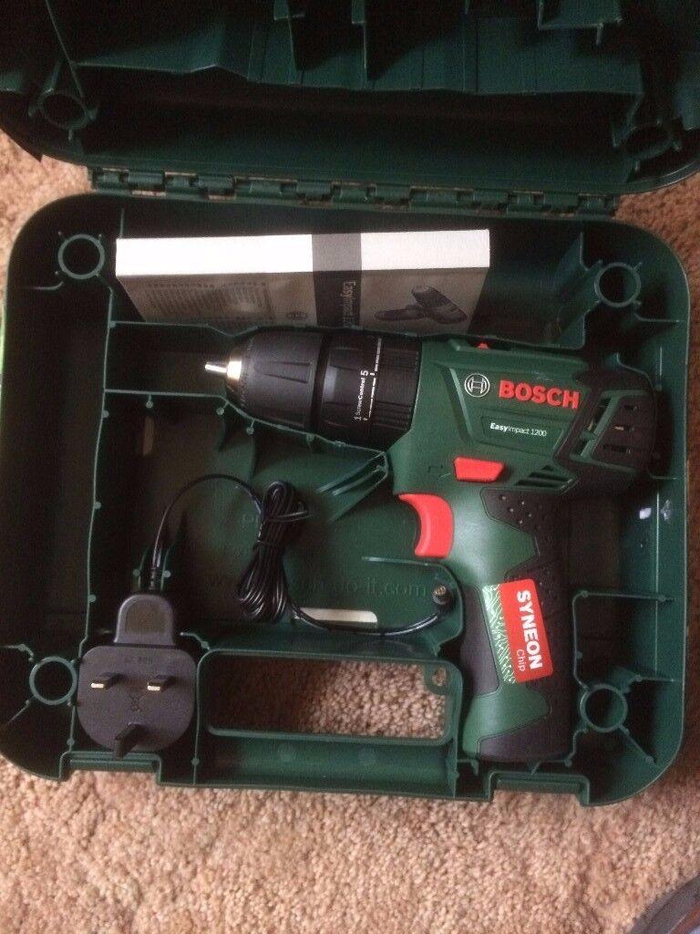 New Bosch compact 12v Li-ion combi (hammer) drill - £40 ovno