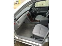 Mercedes W210 e class cloth interior