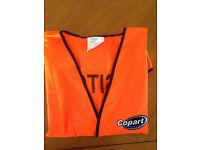 High Visibility Orange color vest
