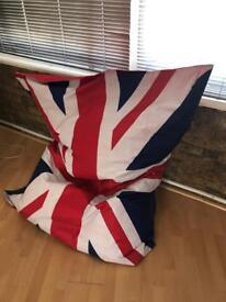 Bean Bag Union Jack extra large