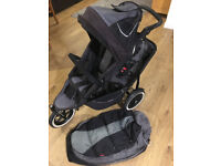 phil and ted double buggy + all kit